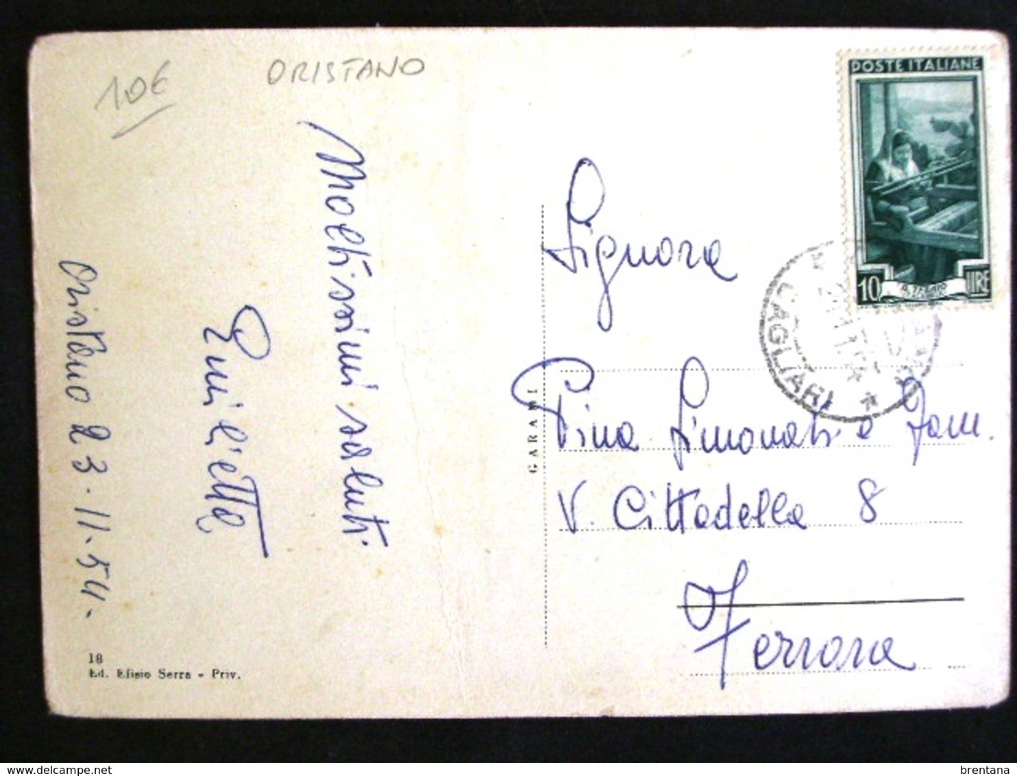 SARDEGNA -ORISTANO -F.G. LOTTO N°499 - Oristano