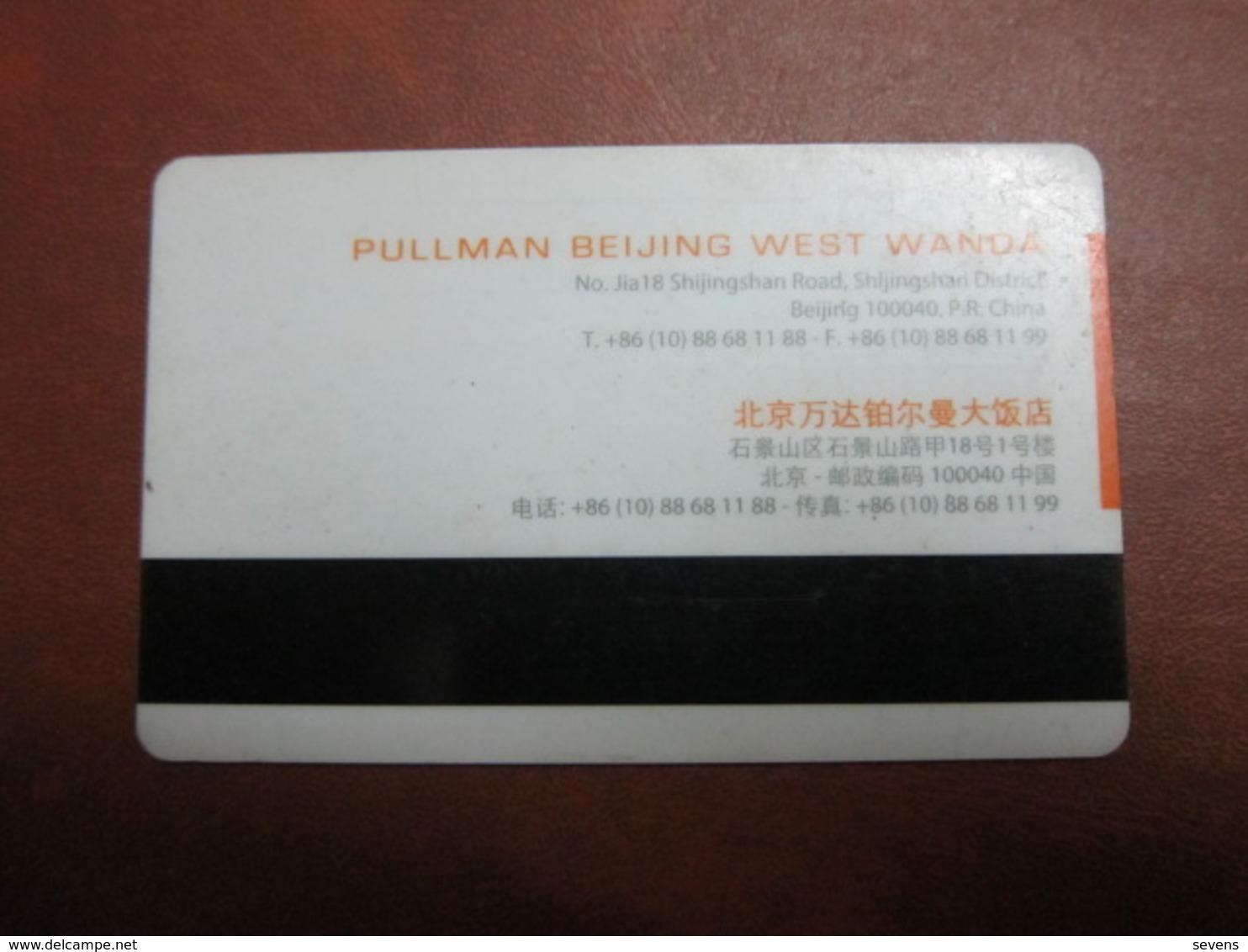 Pullman Beijing West Wanda - Cartes D'hotel