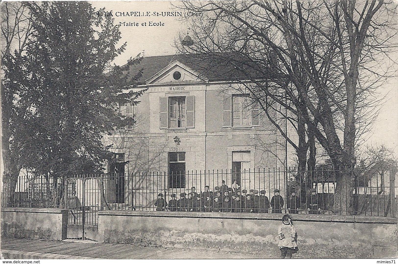 CPA 18 LA CHAPELLE Saint URSIN - Autres Communes