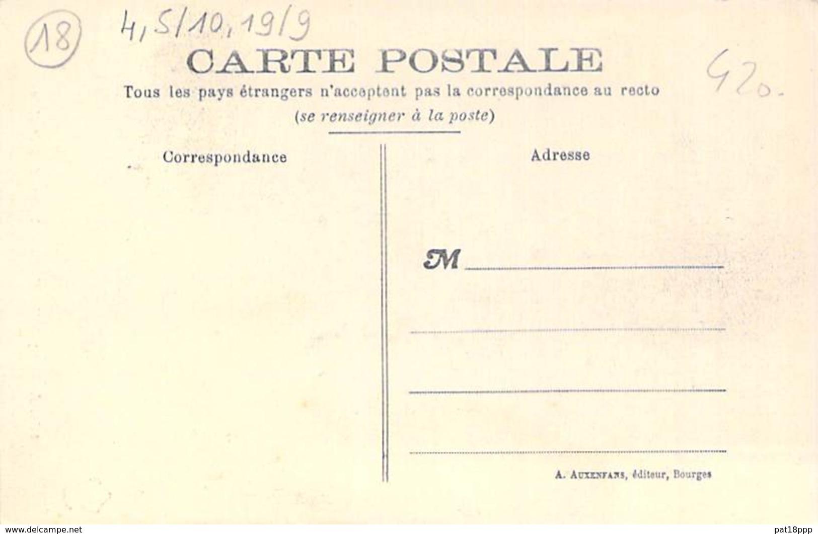 18 - AUBIGNY Sur NERE : Maison Du XV° Siècle ( Animation ) CPA Village (5.500 Habitants) Cher ( Berry ) - Aubigny Sur Nere