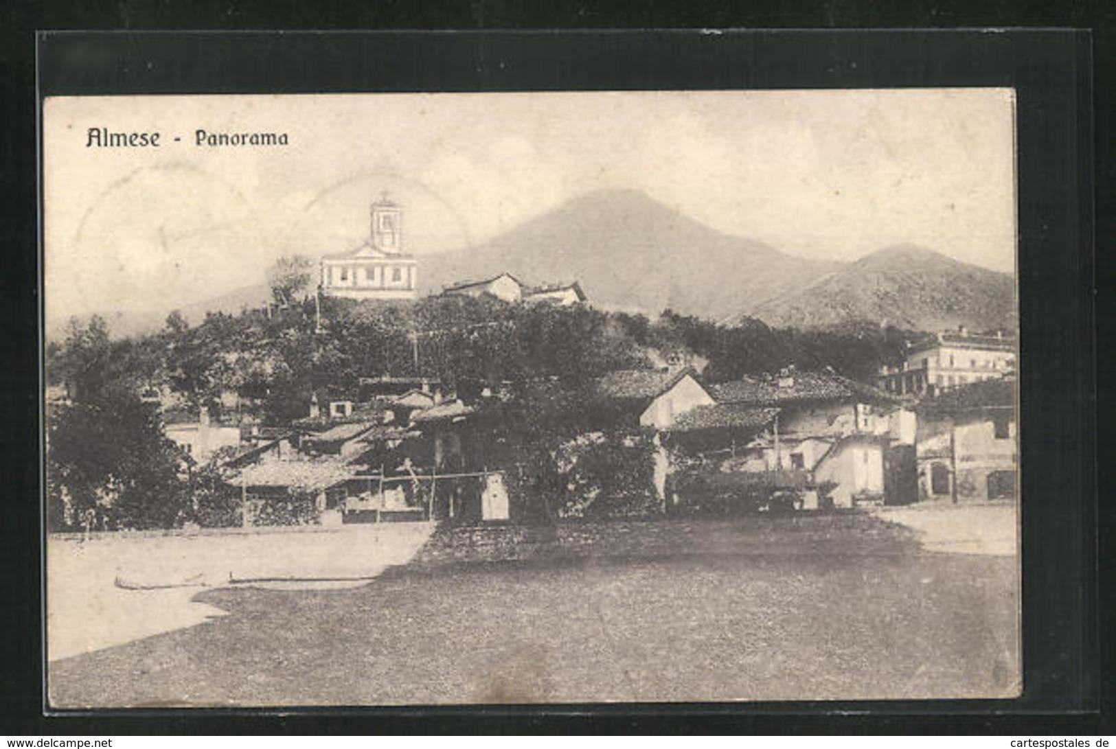 Cartolina Almese, Panorama - Other Cities