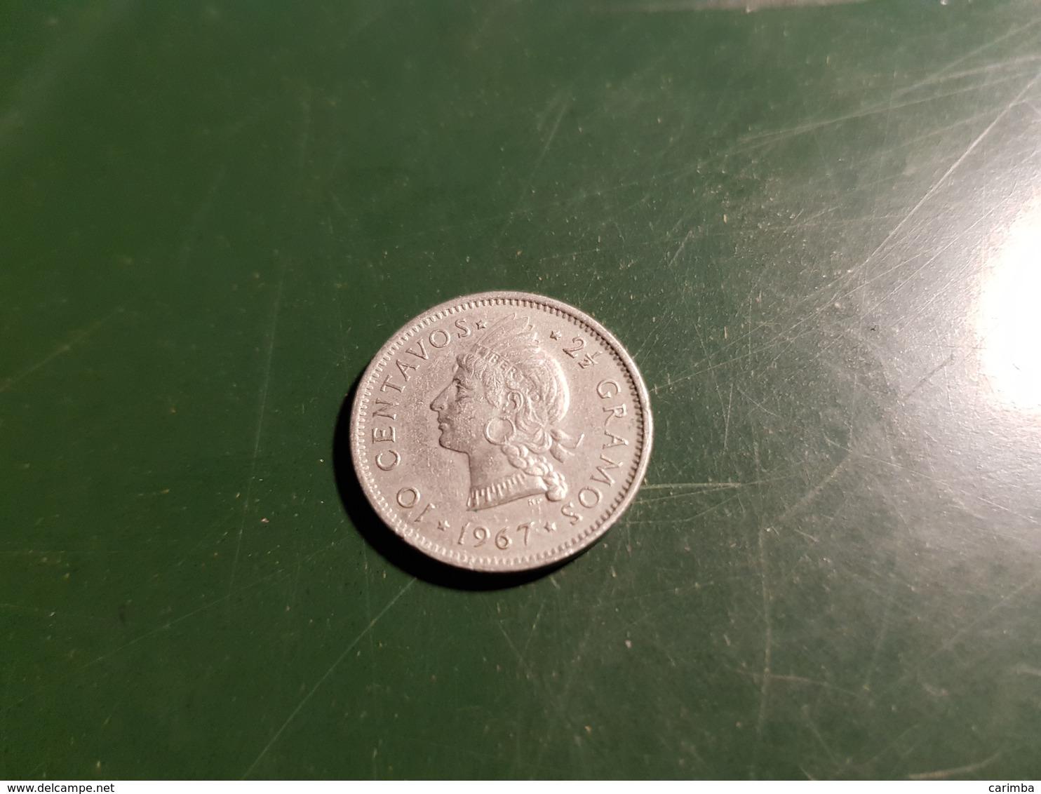1967 10 Centavos - Dominikanische Rep.