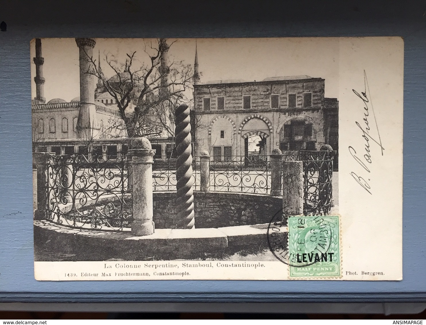 La Colonne Serpentine,Stamboul,Constantinople - Turquie