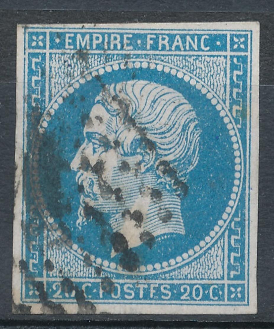 N°14 PANNEAU G.1. VARIETE MARQUEE AU VERSO. - 1853-1860 Napoléon III