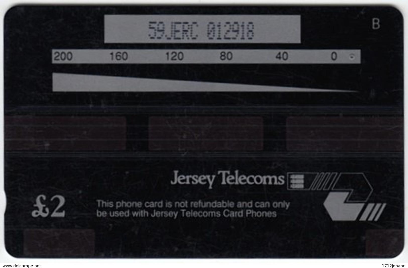 JERSEY A-240 Magnetic Telecom - 59JERC - Used - Ver. Königreich