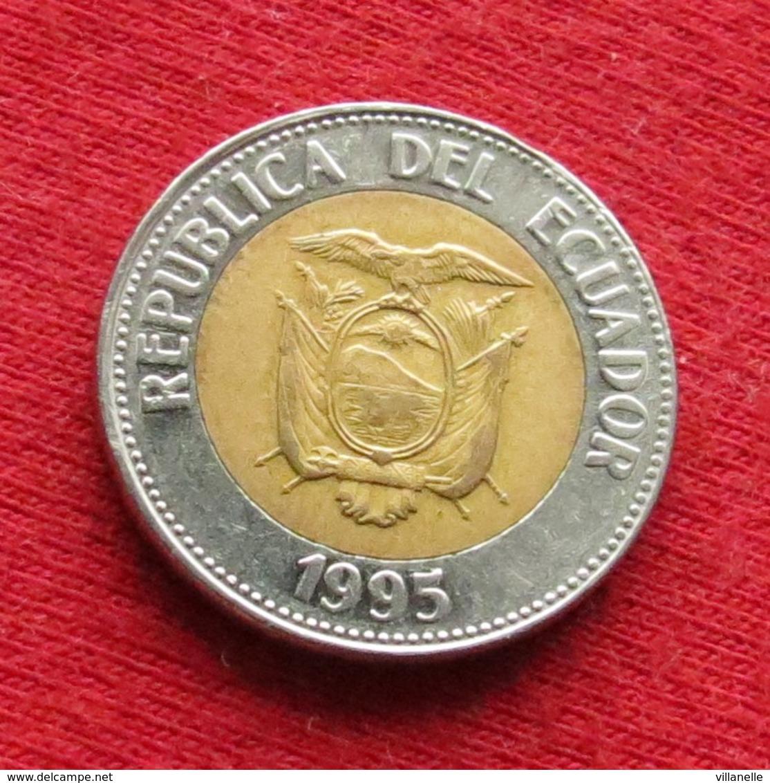 Ecuador 100 Sucre 1995 KM# 96 *V2 Lt 165 Equador Equateur - Ecuador