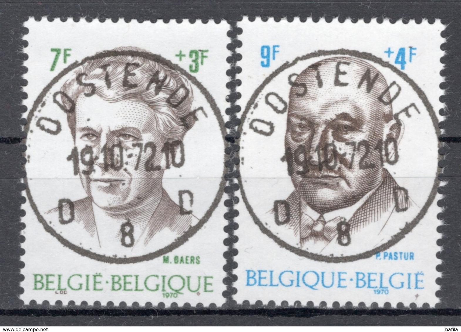 BELGIE: COB 1559/1560  MOOI GESTEMPELD. - Belgien
