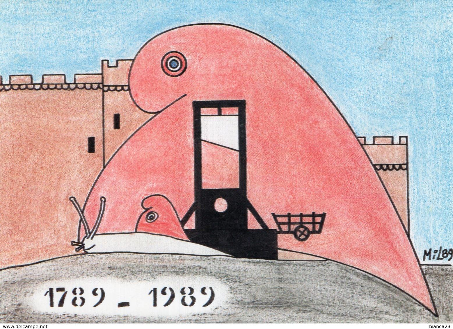 B63969 Cpm Bicentenaire De La Revolution  , Illustrateur Joel Millet - Unclassified
