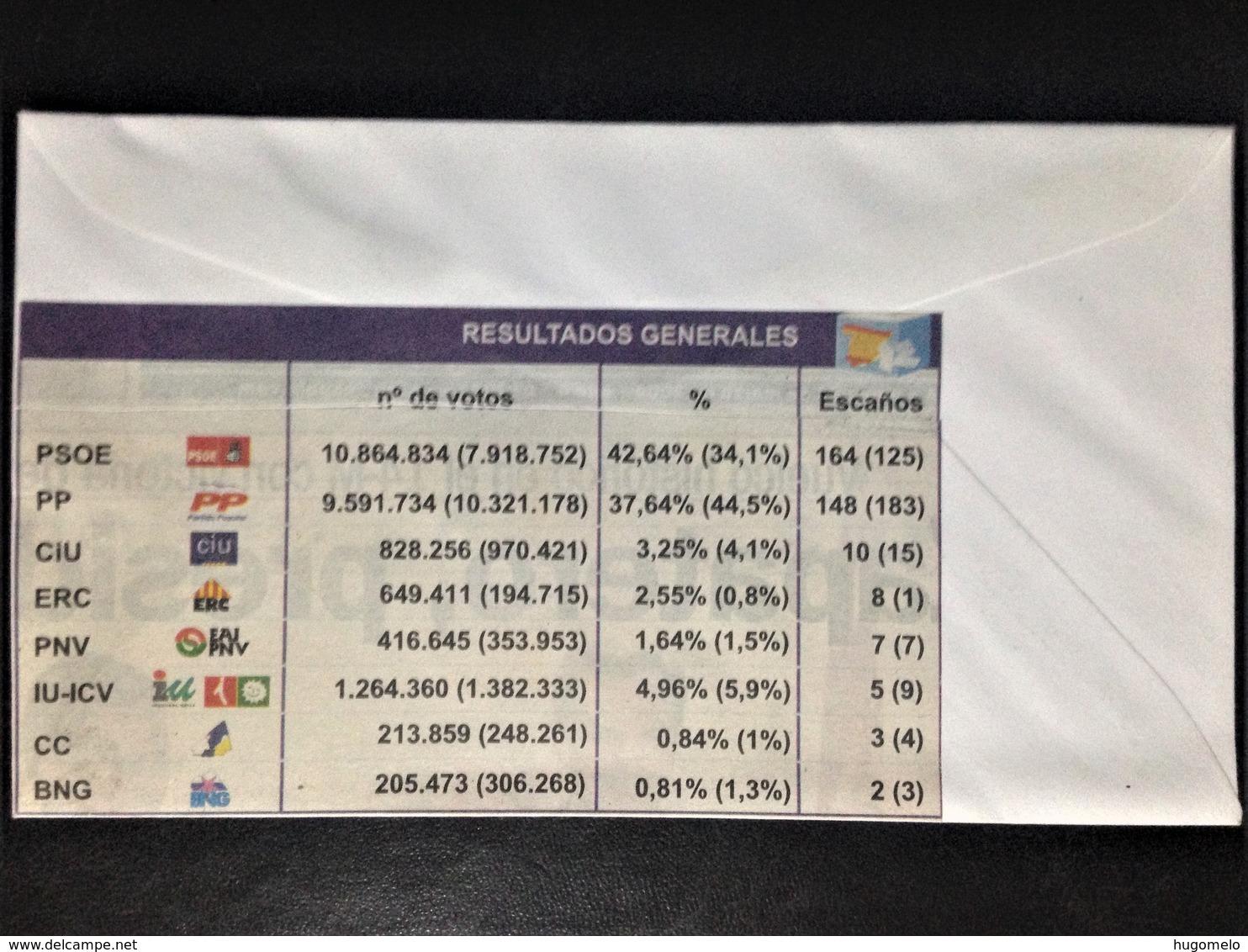 """Spain, Circulated Cover, """"Politics"""", """"Elections"""", """"Zapatero"""", 2004 - Colecciones"""