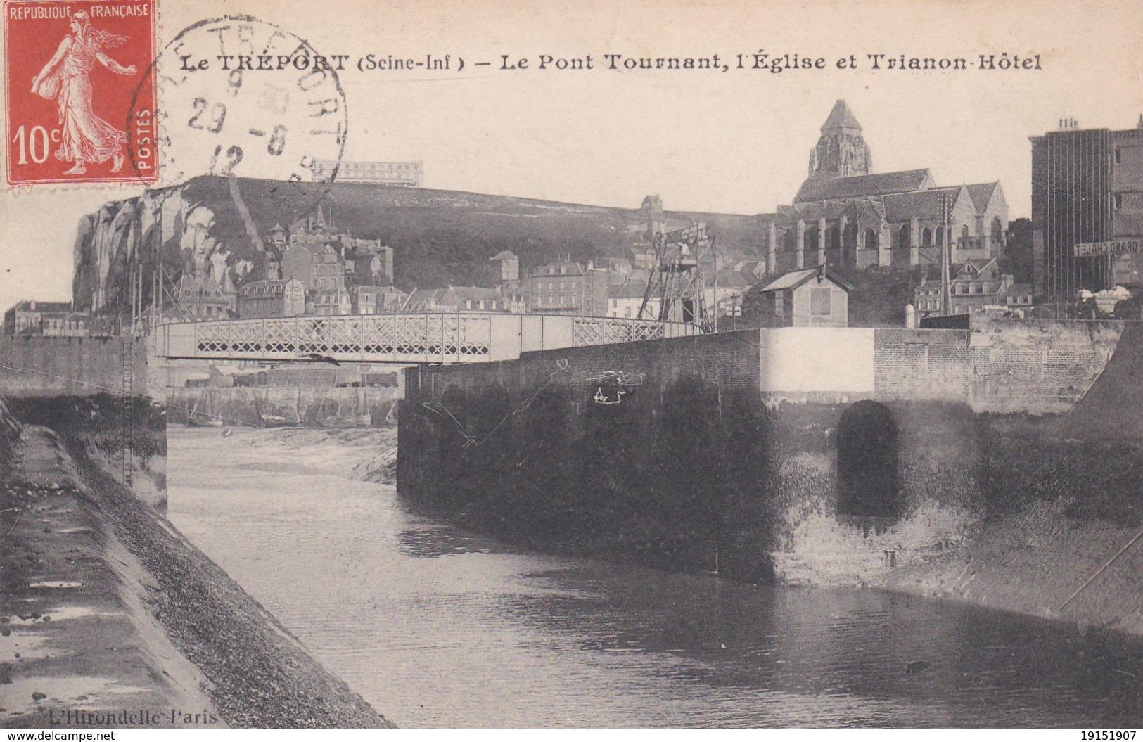 LE TREPORT  D76  LE PONT TOURNANT - Le Treport