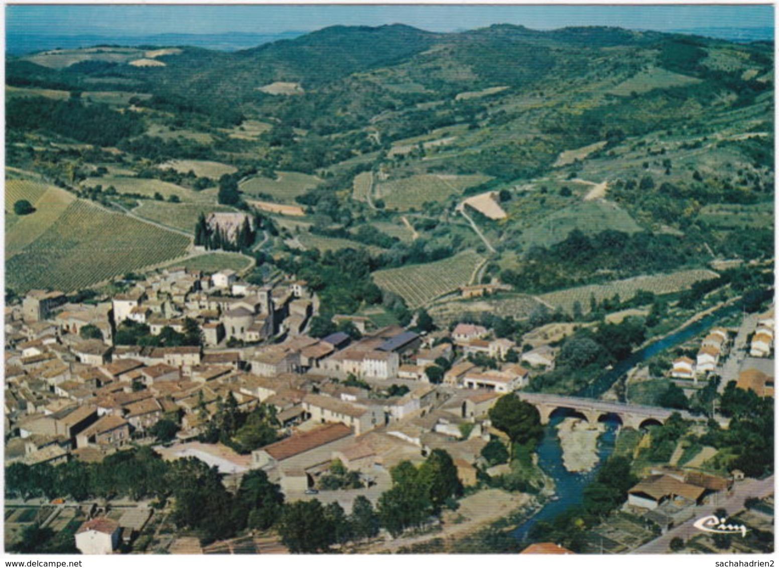11. Gf. ST-HILAIRE. Vue Générale Aérienne. 1533 - Saint Hilaire