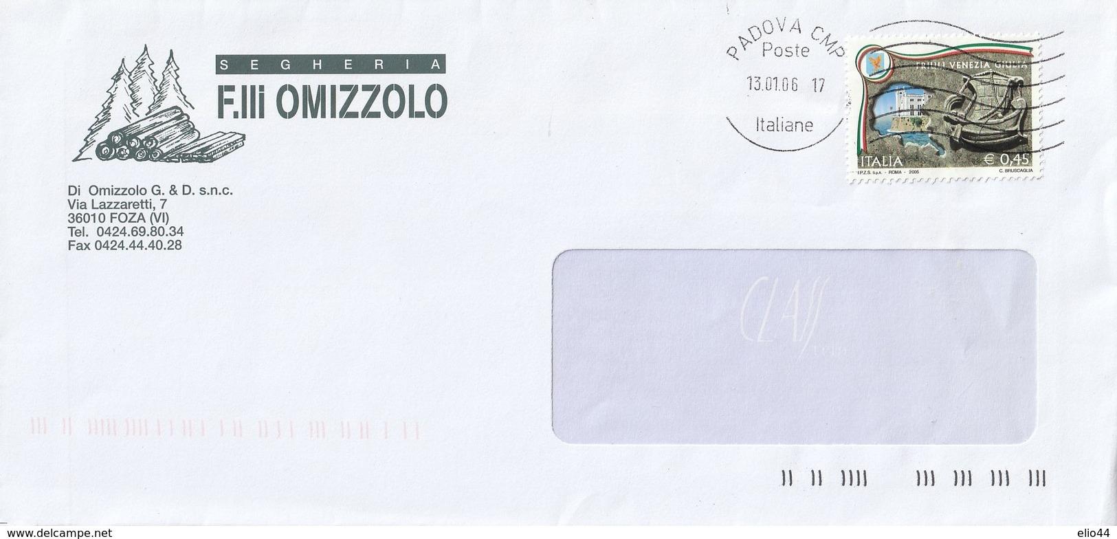 Repubblica - 2001-2010 Usati In Busta - - 6. 1946-.. Repubblica