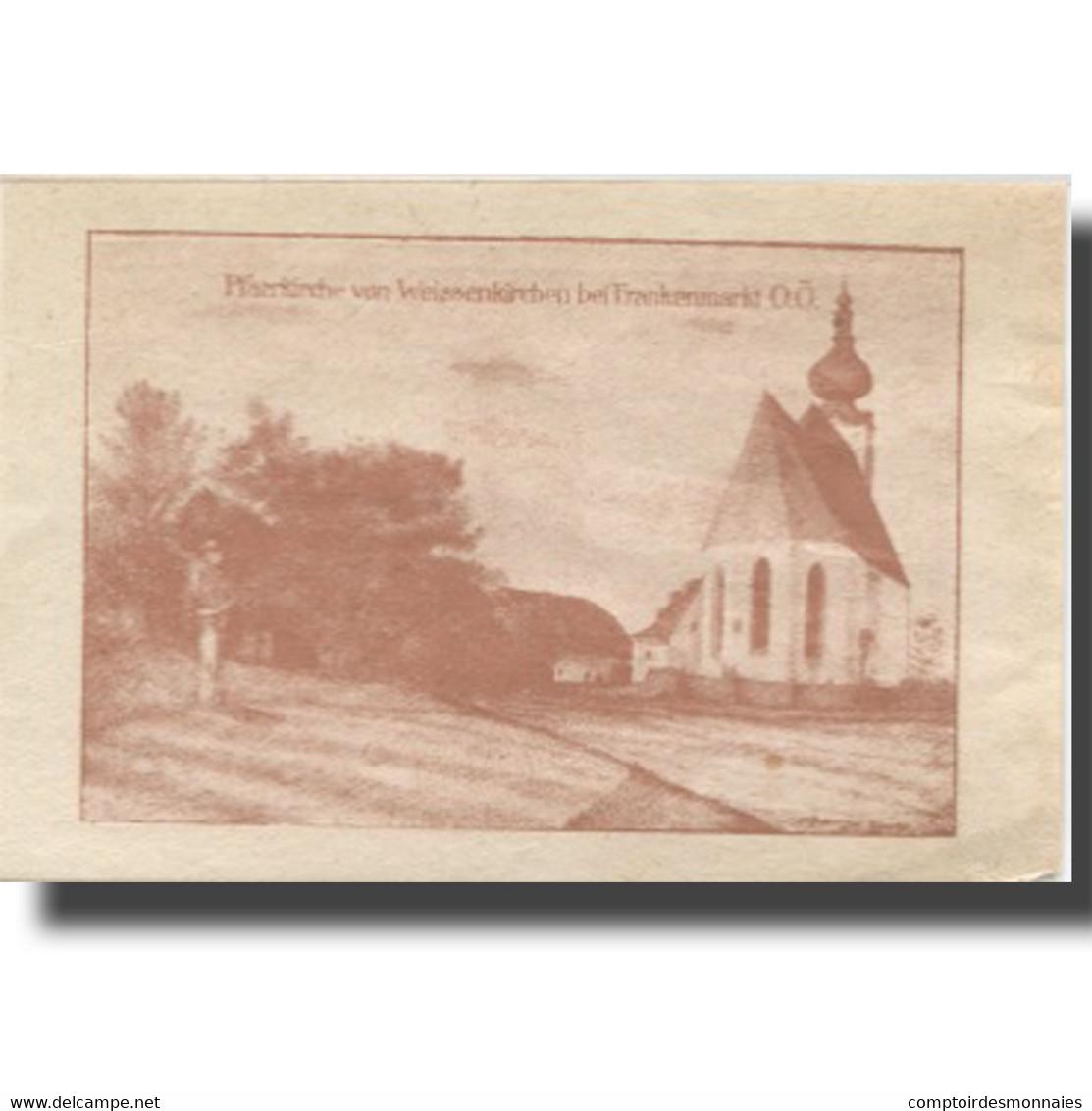 Billet, Autriche, Weissenkirchen, 10 Heller, Personnage, 1920 SUP Mehl:FS 1157I - Austria