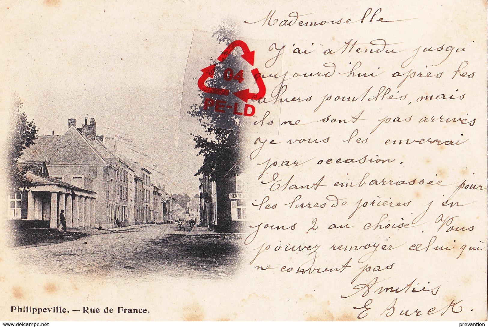 PHILIPPEVILLE - Rue De FRANCE - Philippeville