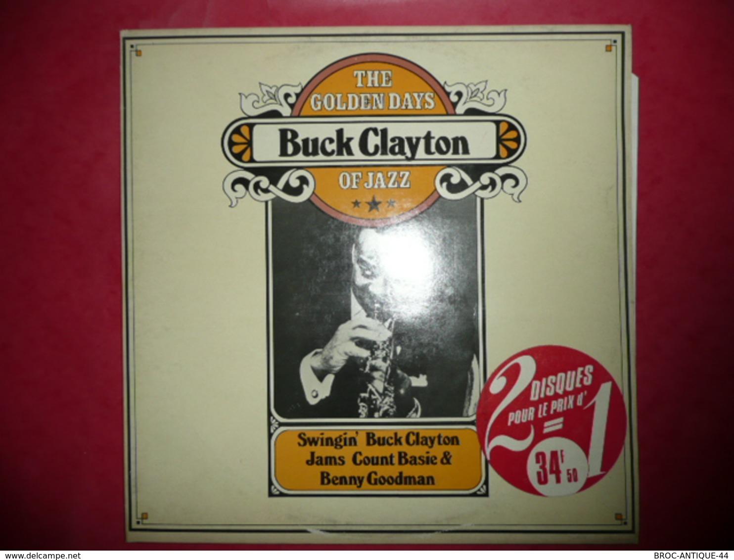 LP33 N°1318 - THE GOLDEN DAYS OF JAZZ - BUCK CLAYTON - 2 LP 7 TITRES - Jazz