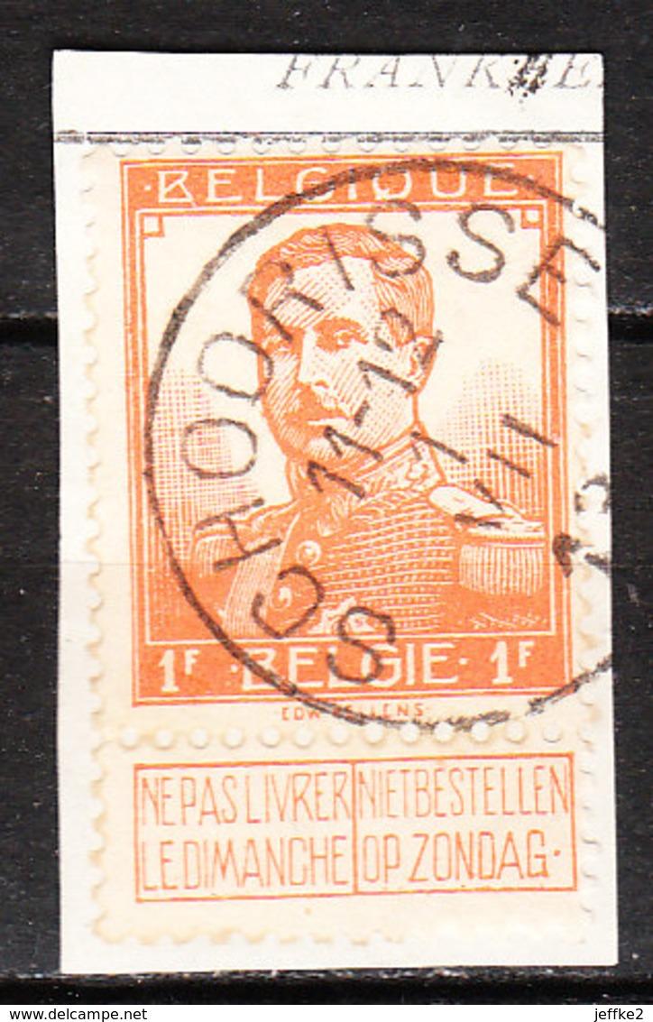 116  Pellens - Bonne Valeur - Oblit. Centrale SCHOORISSE  - Sur Fragment - LOOK!!!! - 1912 Pellens