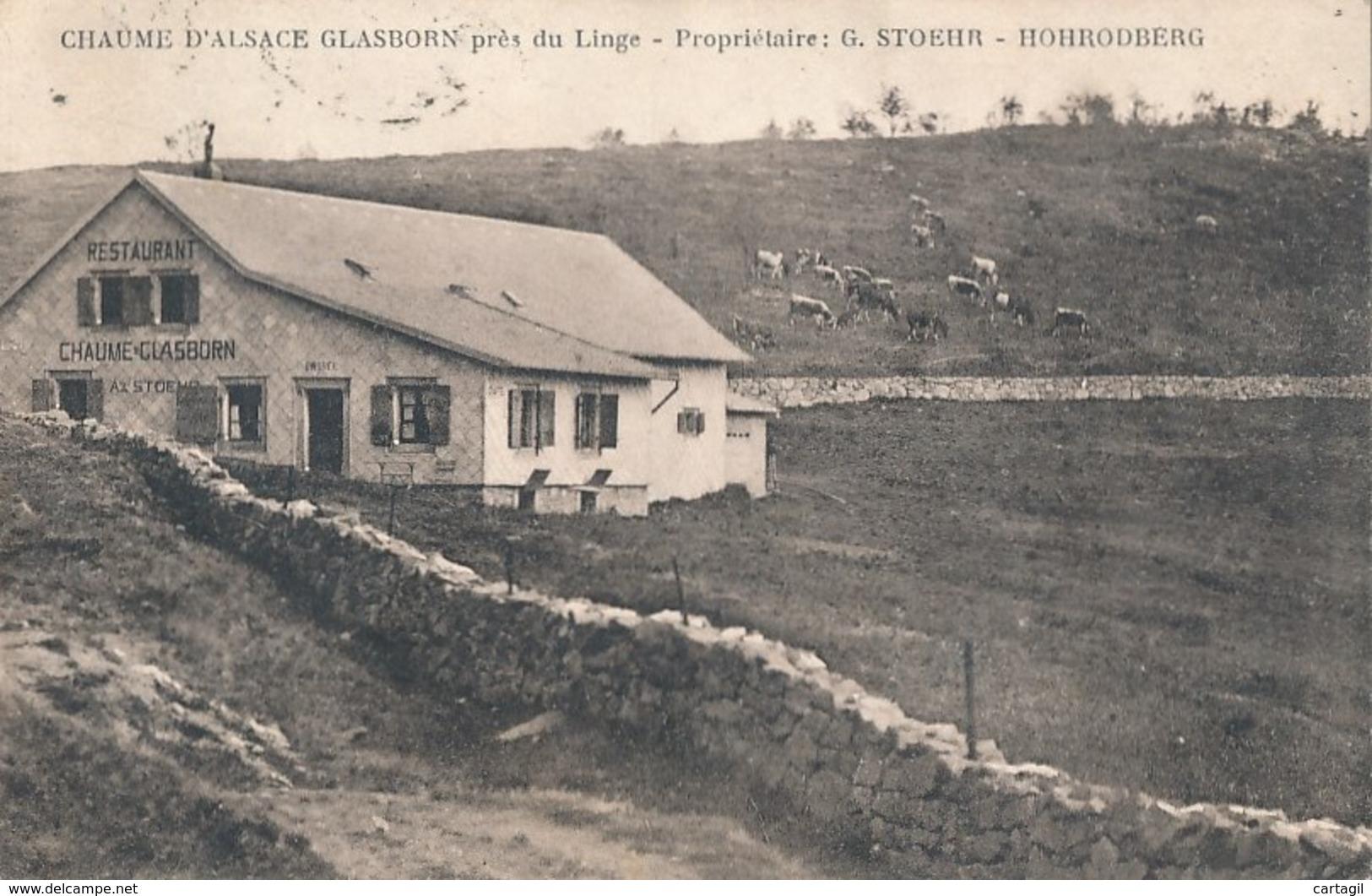 CPA-37896-68 - Hohrodberg - Restaurant Chaume D'Alsace Glasborn    -Envoi Gratuit - France