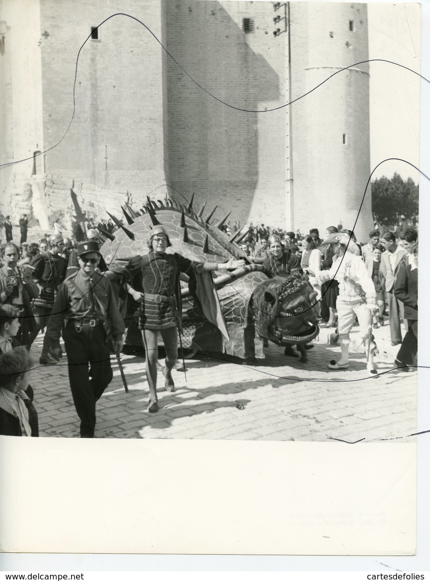 PHOTOGRAPHIE.  TARASCON. Fête De La Tarasque - Plaatsen