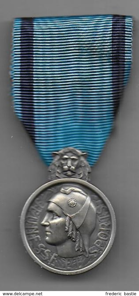 Médaille En Argent JEUNESSE Et SPORTS - Non Classés