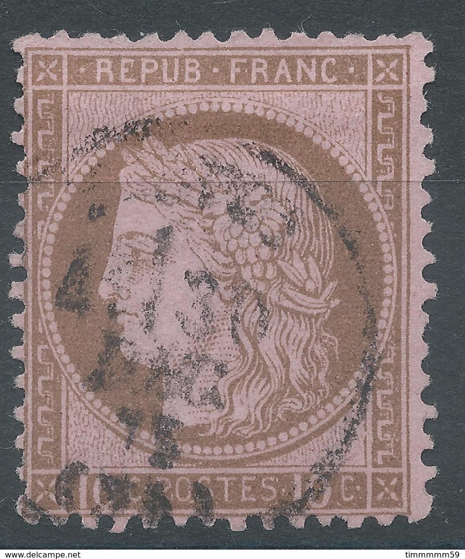 Lot N°52368  N°54, Oblit Cachet à Date à Déchiffrer - 1871-1875 Cérès