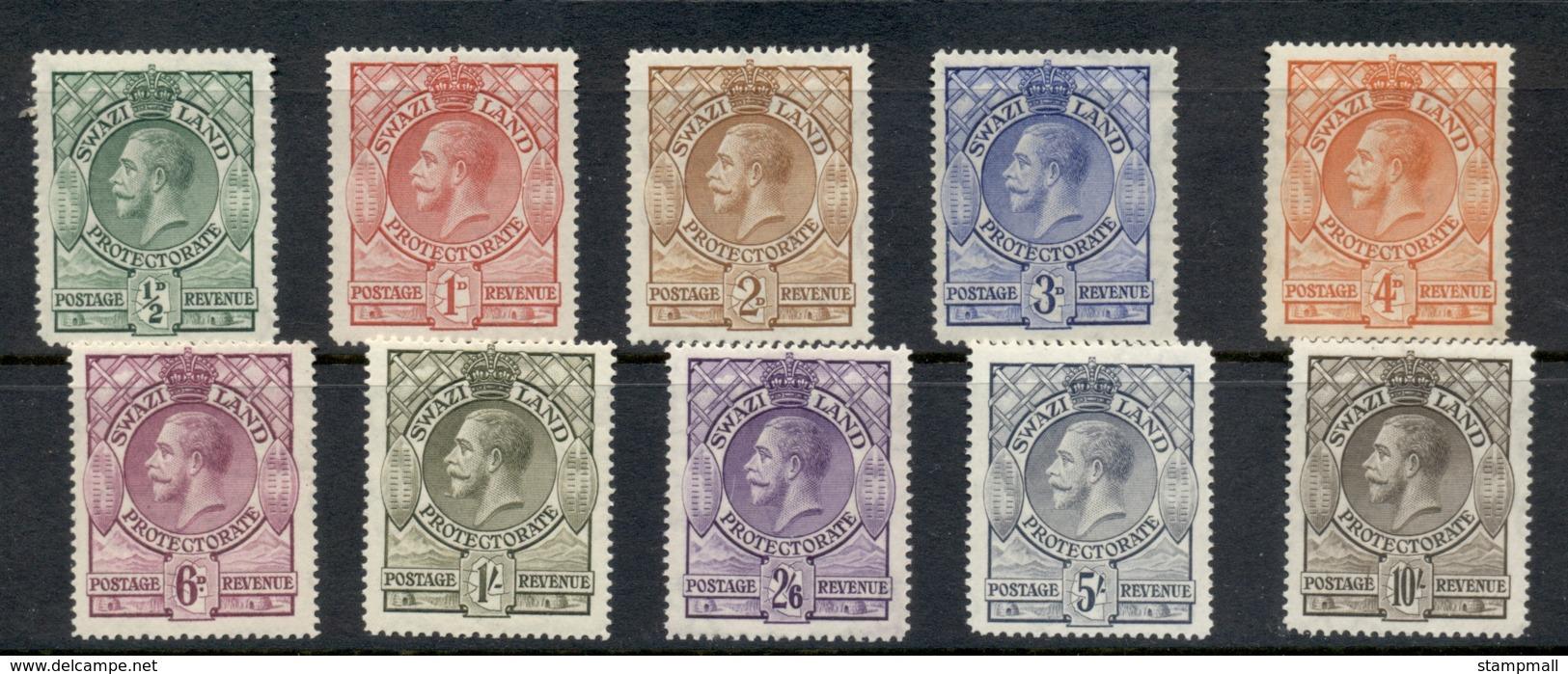 Swaziland 1933 KGV & Shield MLH - Swaziland (1968-...)