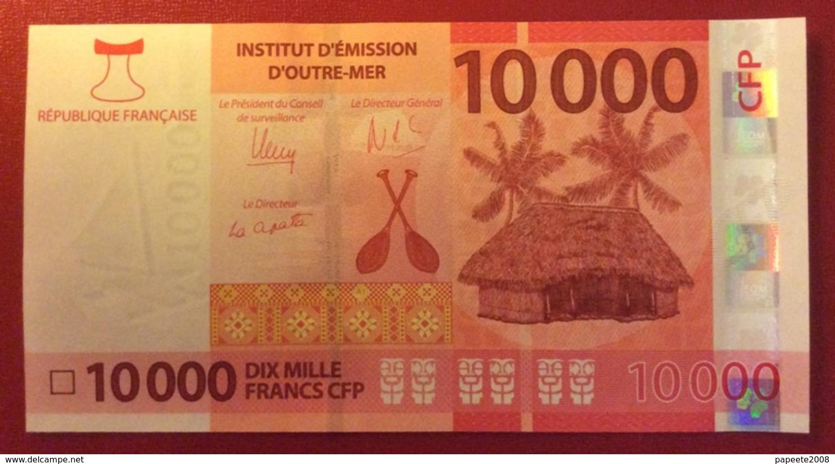 Polynésie Française - 10 000 FCFP - 2020 - N° 035491 A0  / Signatures Noyer-de Seze-La Cognata - Neuf  / Jamais Circulé - Papeete (Polynésie Française 1914-1985)