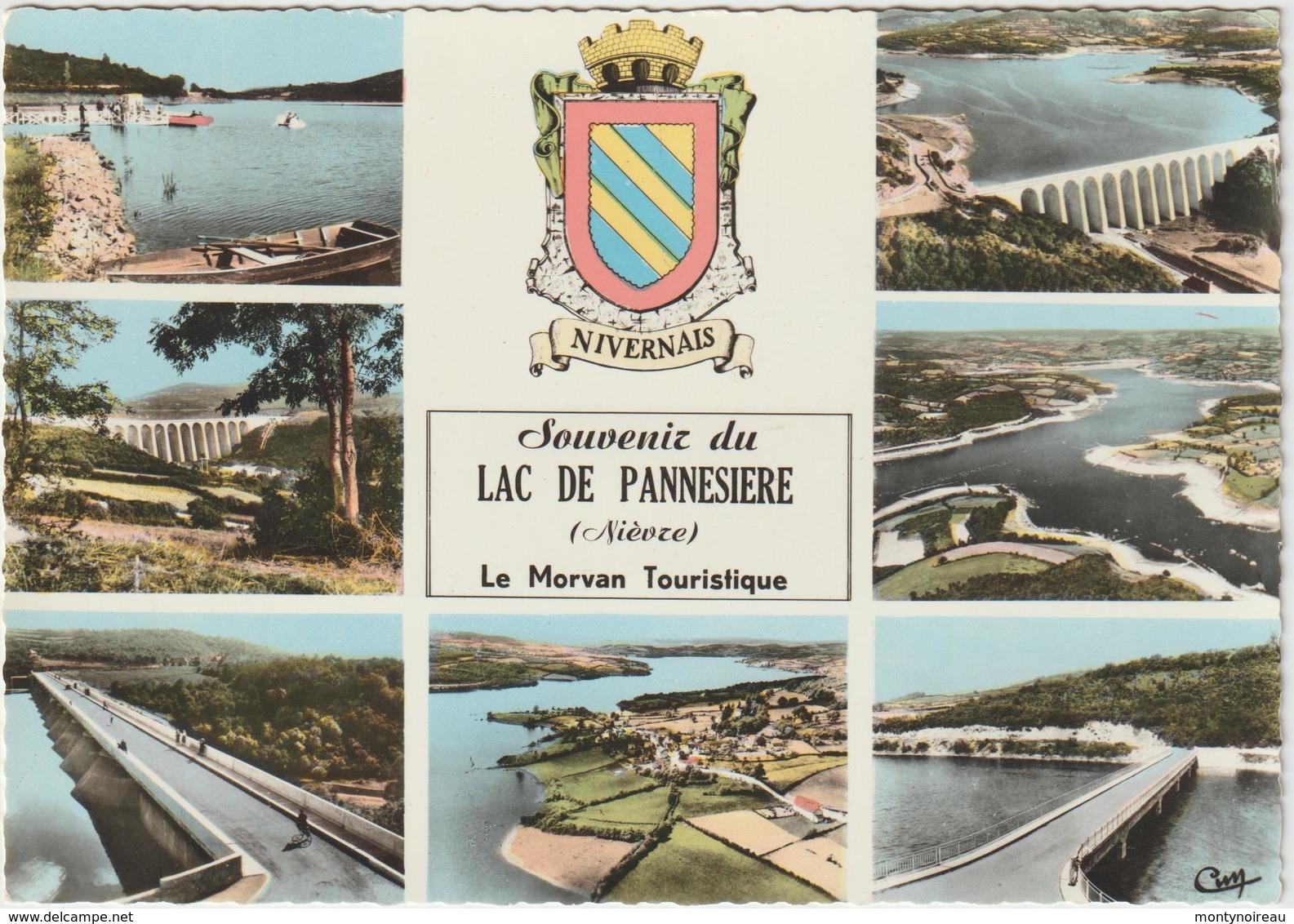 Niévre :  Lac De  Pannesiere , Le  Morvan - France
