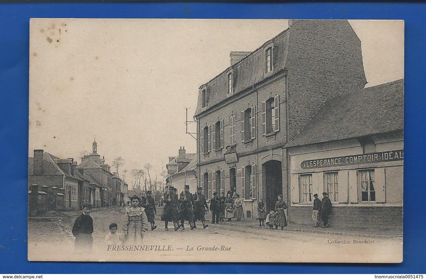 FRESSENNEVILLE   La Grande Rue  Magasin           Animées - France