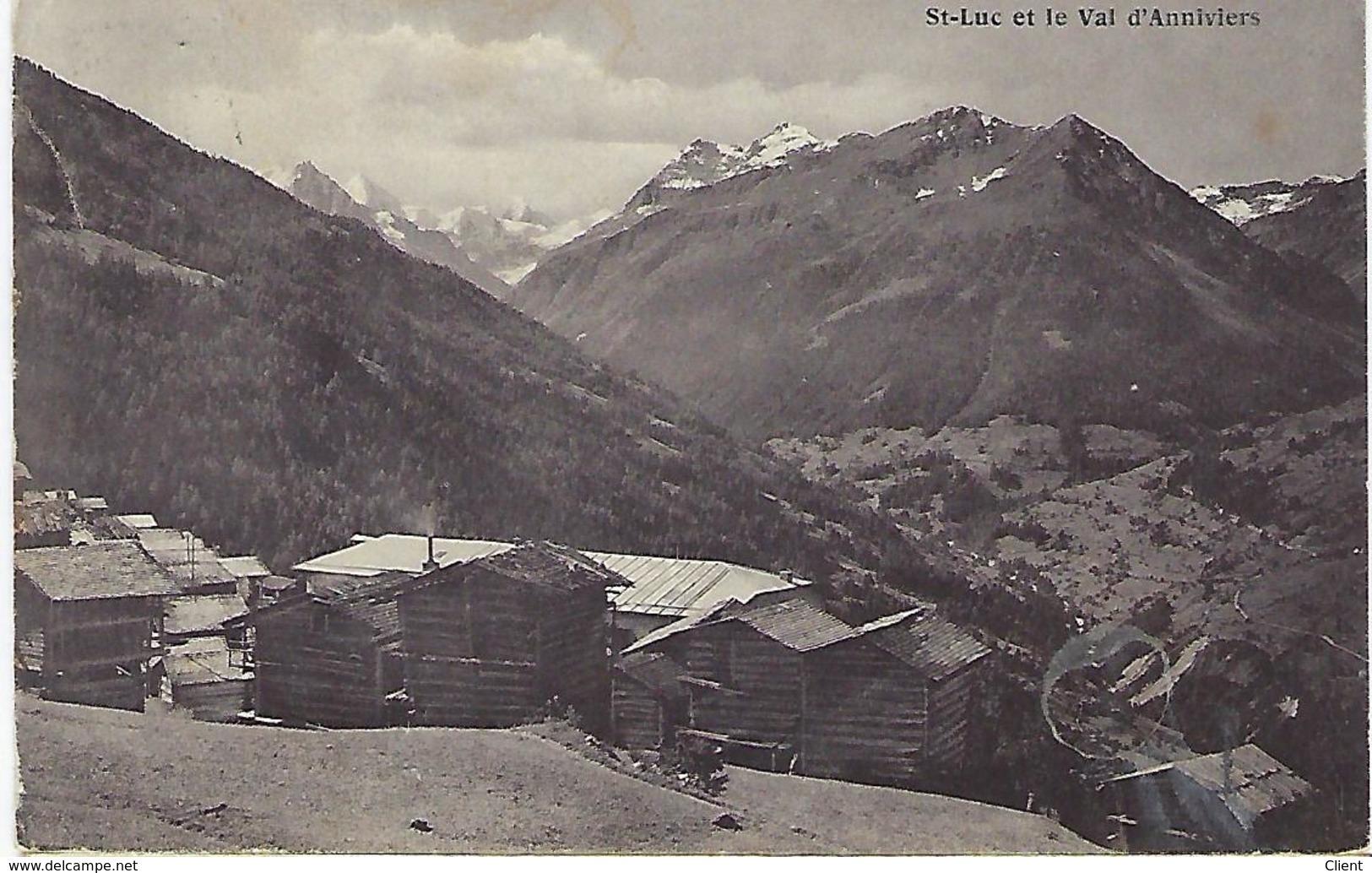 SCHWEIZ - St-Luc Et Le Val D'Anniviers - 1912 - VS Valais