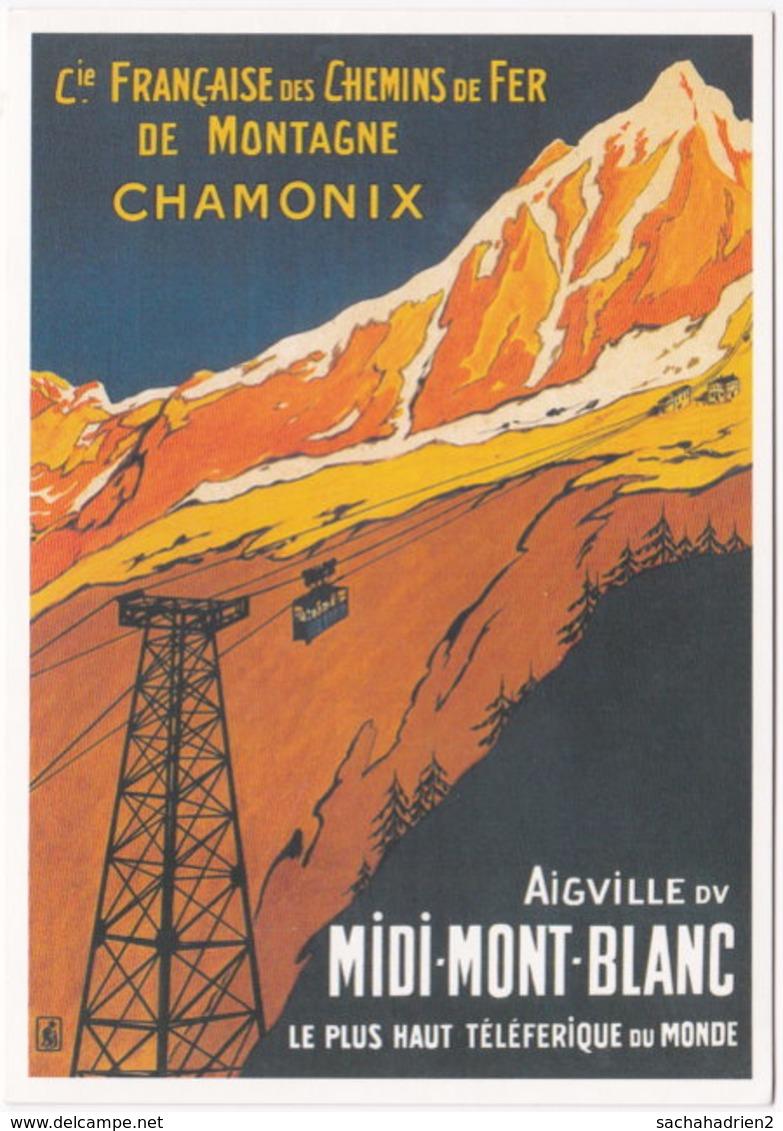 74. Gf. CHAMONIX. Aiguille Du Midi-Mont-Blanc. Le Plus Haut Téléférique Du Monde. 101205 - Chamonix-Mont-Blanc
