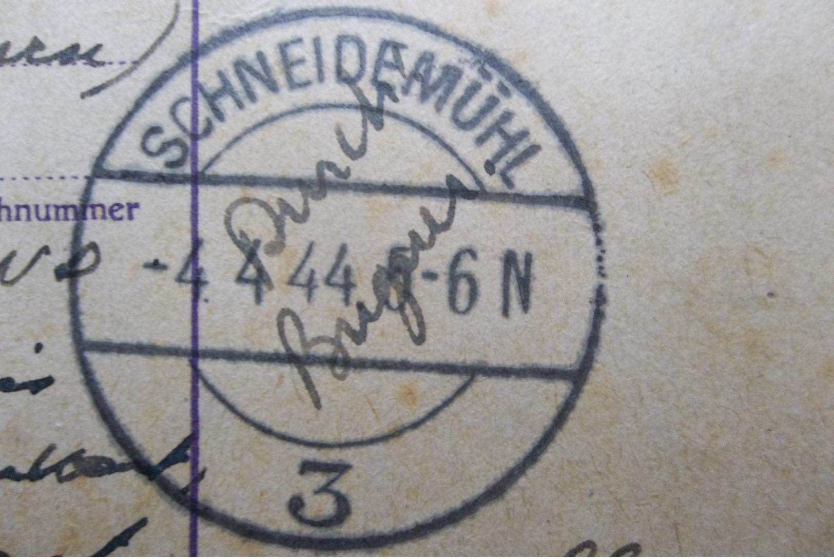 Deutsches Reich: 1944 Censored Postal Card To Belgique (#EY2) - Storia Postale