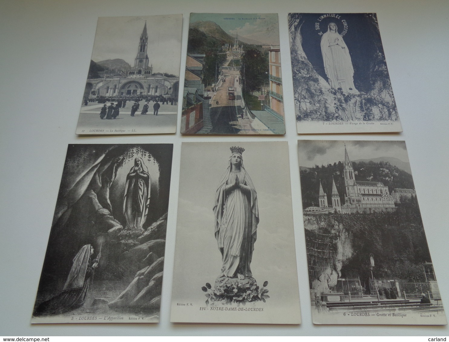 Beau Lot De 60 Cartes Postales De France  Lourdes       Mooi Lot Van 60 Postkaarten Van Frankrijk  - 60 Scans - Postkaarten