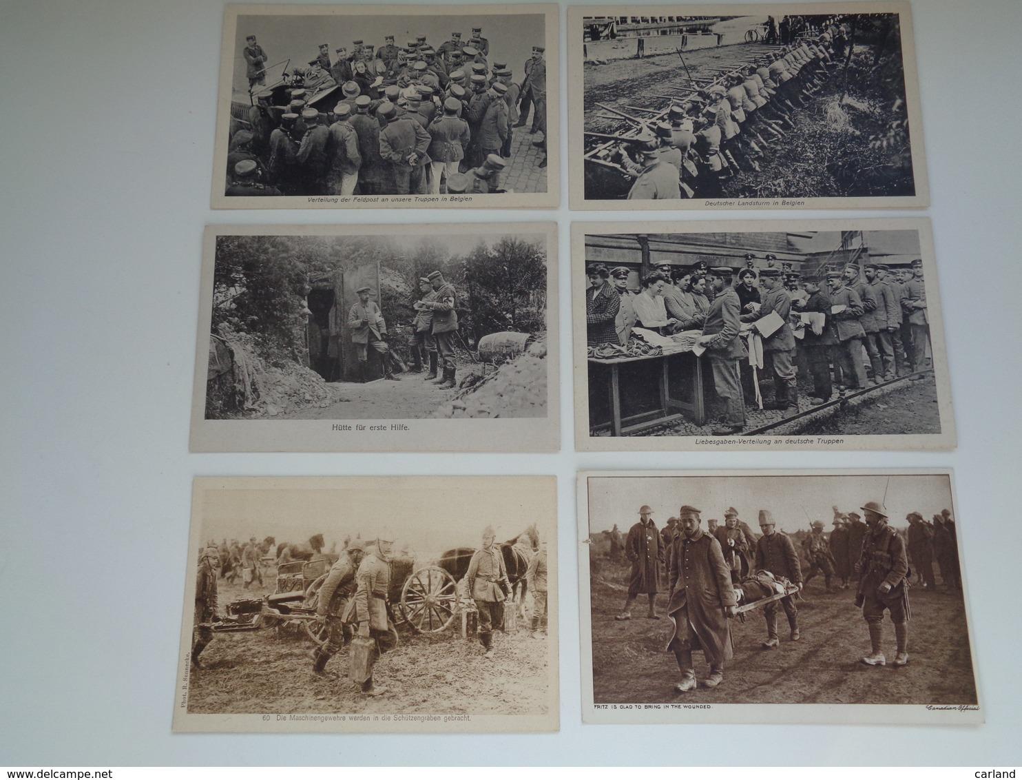 Beau Lot De 20 Cartes Postales Guerre 1914 - 1918  Armée  Soldat Allemand - Oorlog Leger Duitse ( Deutsche ) Soldaten - 5 - 99 Postkaarten
