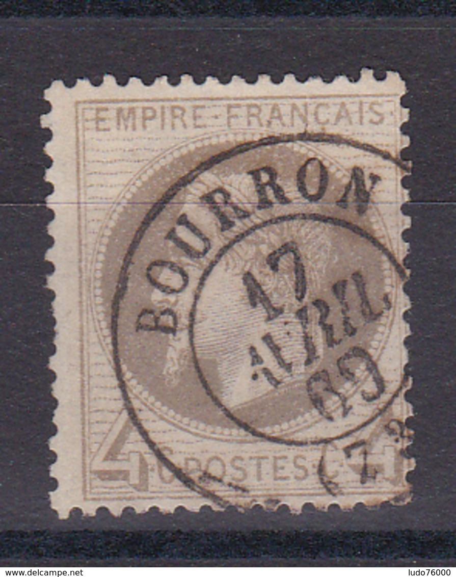 D102/ NAPOLEON N° 27 OBL COTE 90€ - 1863-1870 Napoléon III Lauré