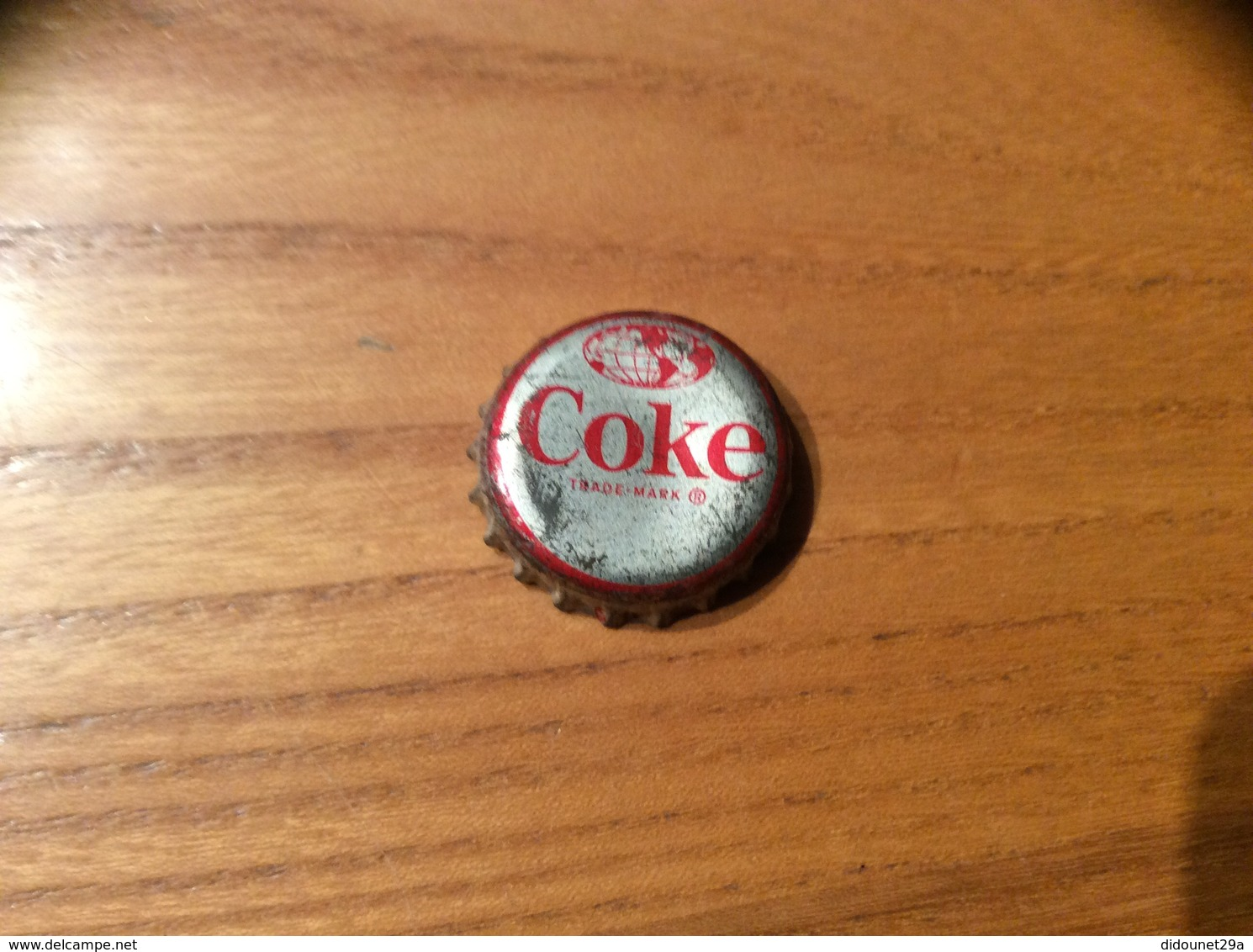 "Ancienne Capsule Soda ""Coke N°29 -EL SALVADOR- CUSCATLAN BRIDGE""Etats-Unis (USA) Coca-Cola, Série Pays (Liège Enlevé) - Soda"