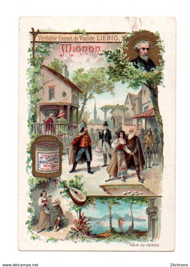 Chromo Liebig: Opera Comique, Mignon, Ambroise Thomas (20-330) - Liebig