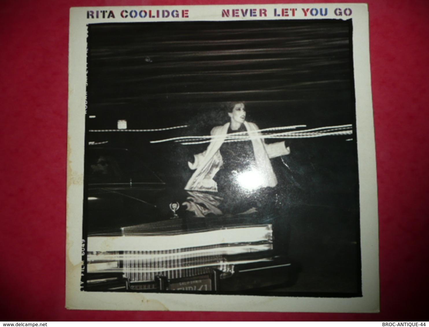 LP33 N°1474 - RITA COOLIDGE - NEVER LET YOU GO -  COMPILATION 10 TITRES POP FOLK ROCK COUNTRY - Country En Folk