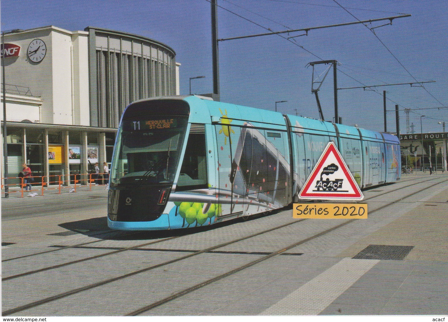 Tramway Citadis X05 En Livrée Inaugurale De Caen (14) - - Caen