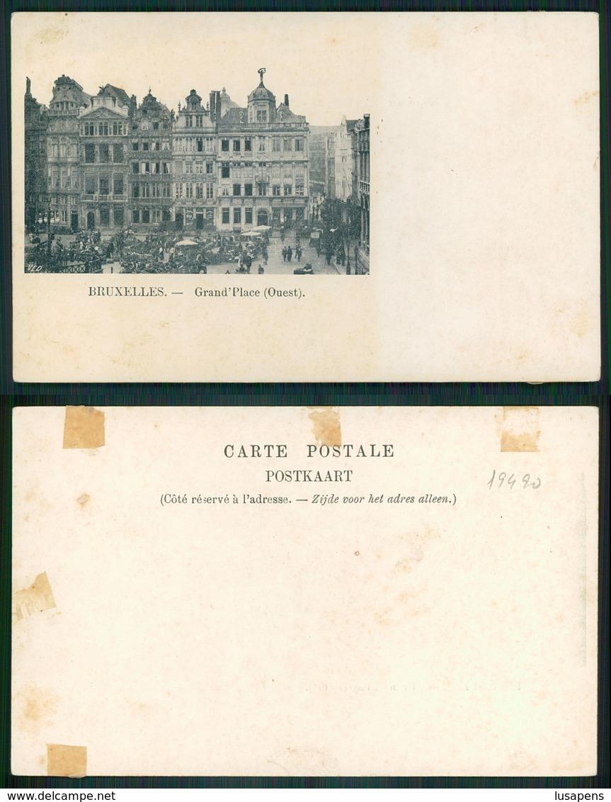 OF [ 19490 ] - BELGIUM - BRUXELLES GRAND PLACE OUEST - Non Classés