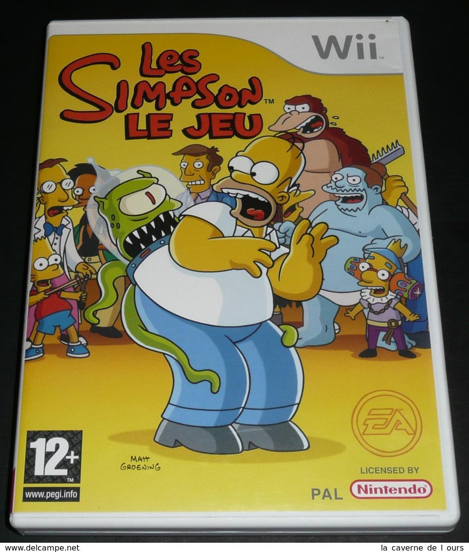 Rare Jeu Pour Console Nintendo WII Wii, The Les SIMPSON 's Le - Autres