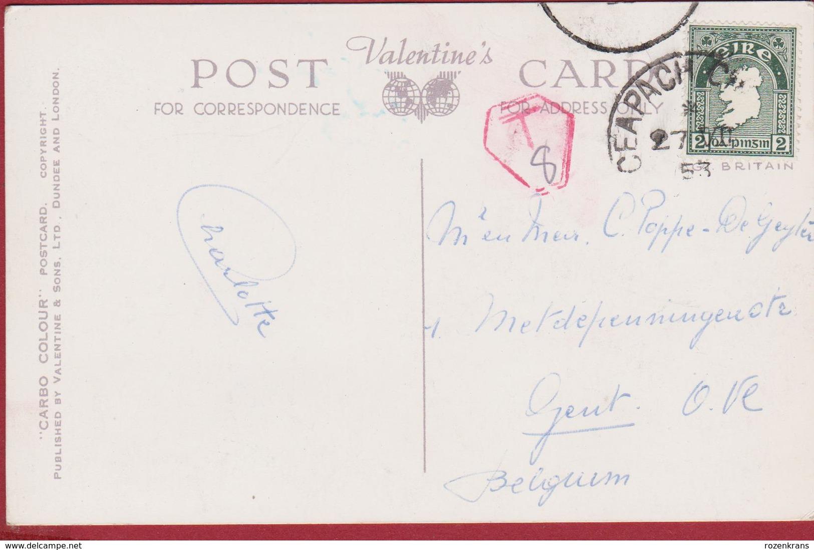 The Little Lanes Of Ireland Fairyland Eva Brennan Going To Market Eire Old Postcard 1922 - Autres