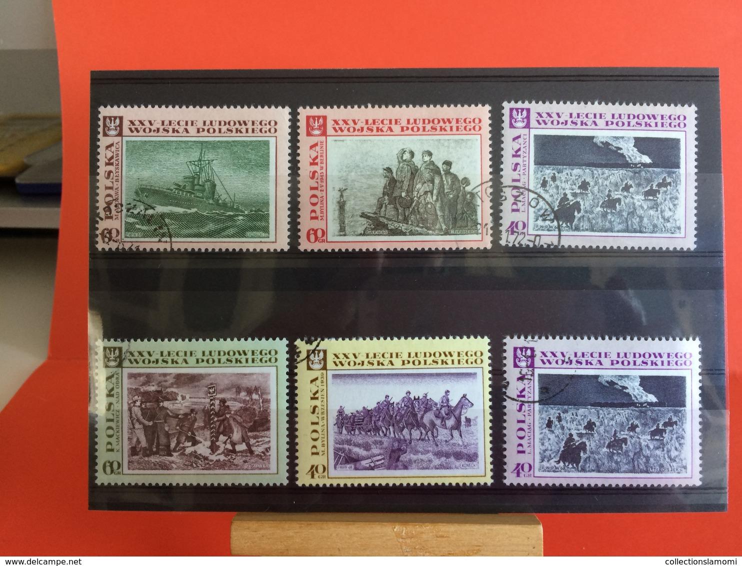 Lot Timbres Oblitérés-neufs, Monde Afrique,Amérique,Asie,Europe,Pays Voir Photos - Stamps
