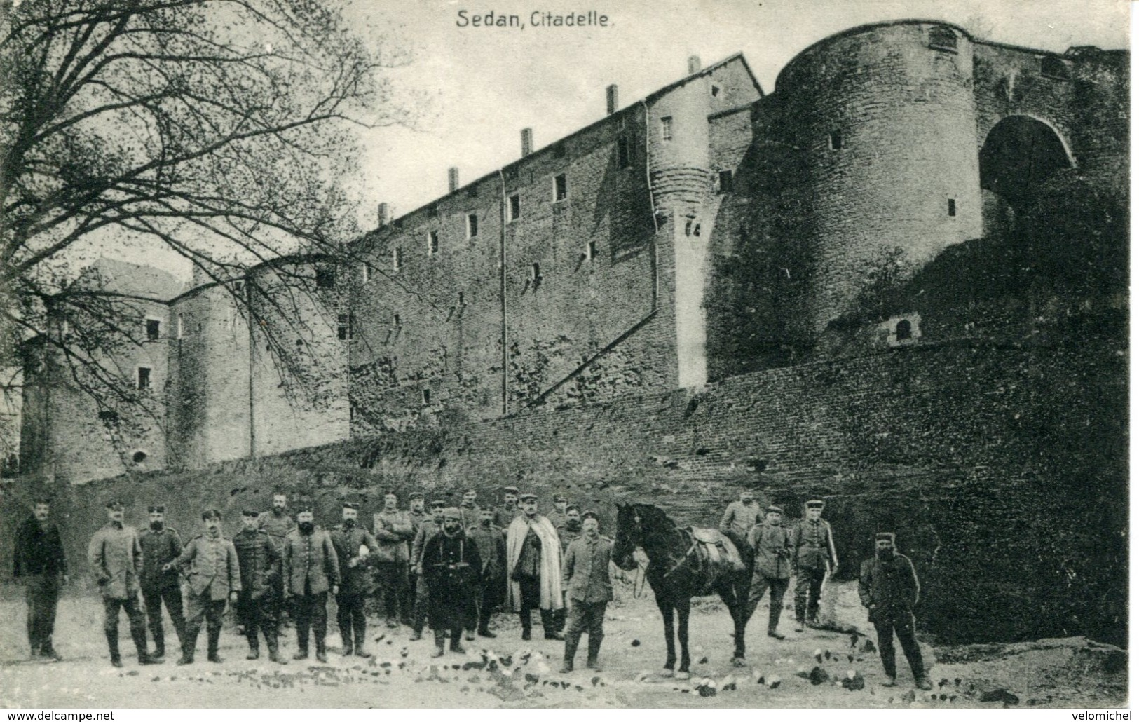 SEDAN. Citadelle (carte Allemande) - Sedan