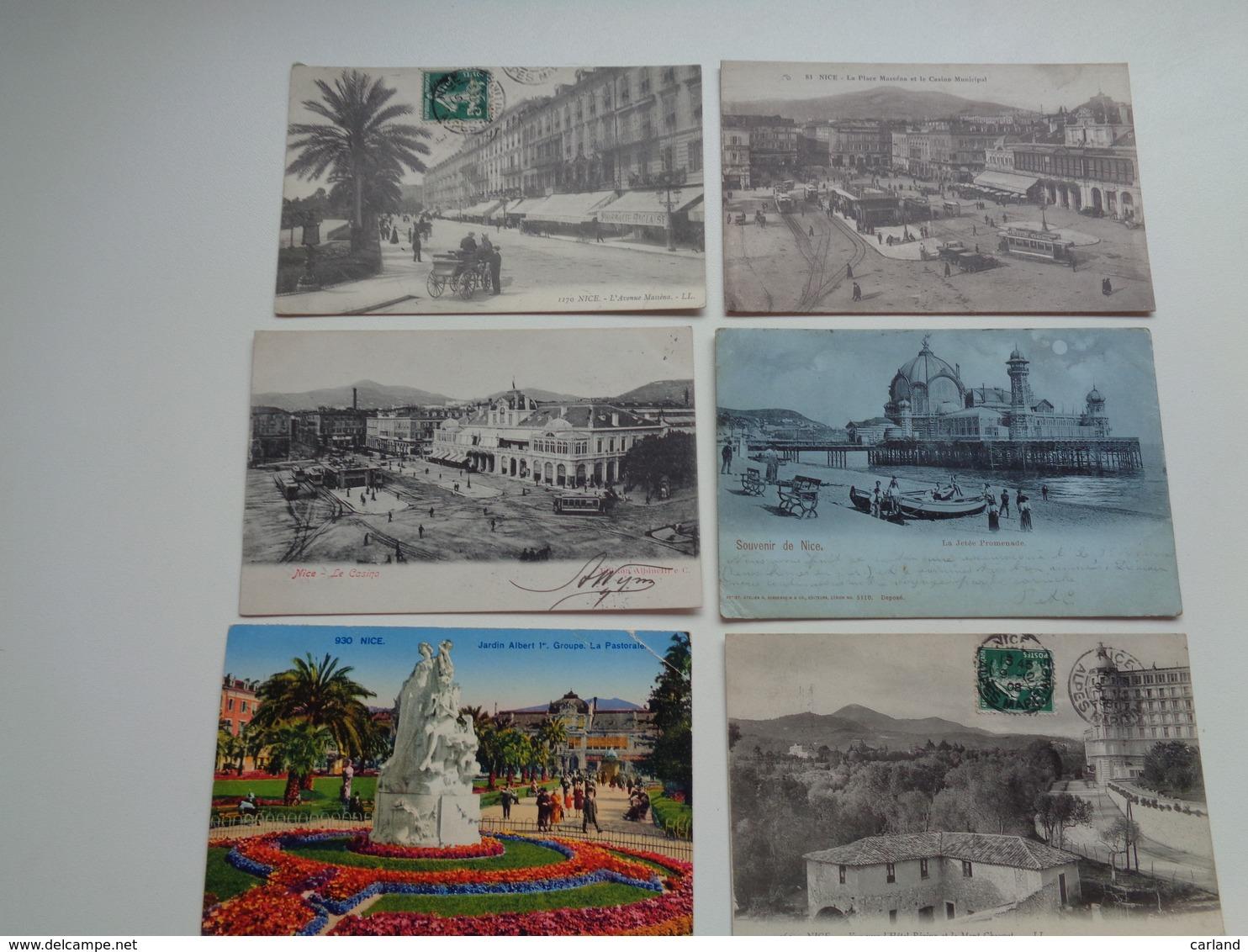 Beau Lot De 60 Cartes Postales De France  Nice    Mooi Lot Van 60 Postkaarten Van Frankrijk    -  60 Scans - 5 - 99 Postkaarten