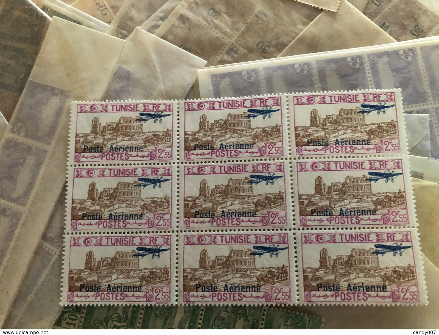 Lot De Millier De  Timbres Petit Format Tunisie Voir Détail Et Photos - Timbres