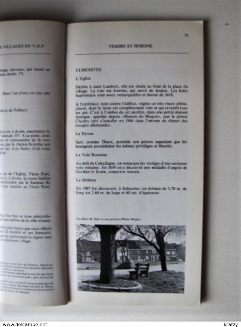 BELGIQUE - GENTES VILLES ET VIEUX VILLAGES EN VESDRE - HOËGNE ET PLATEAUX - 1977 - C1 - Cultuur