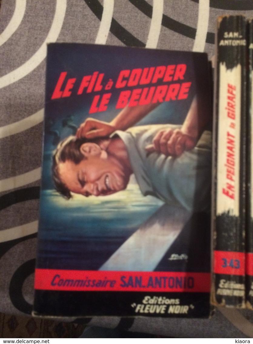 32 SAN ANTONIO  EDITION FLEUVE NOIRE  AUTEUR  FREDERIC  DARD  COUVERTURE  CARTONNÉE  GOURDON - Fleuve Noir