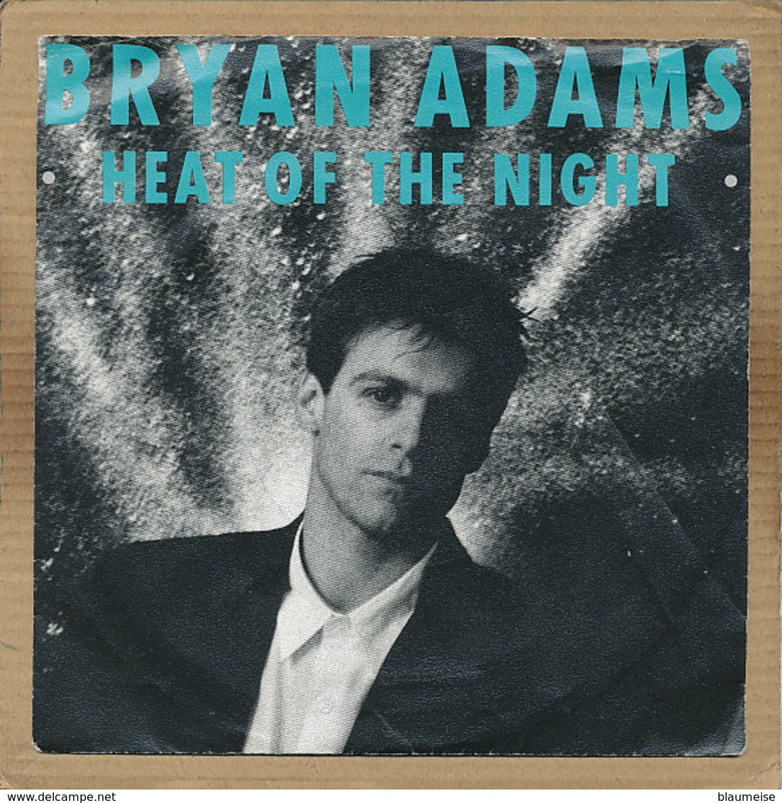 "7"" Single, Bryan Adams - Heat Of The Night - Disco, Pop"