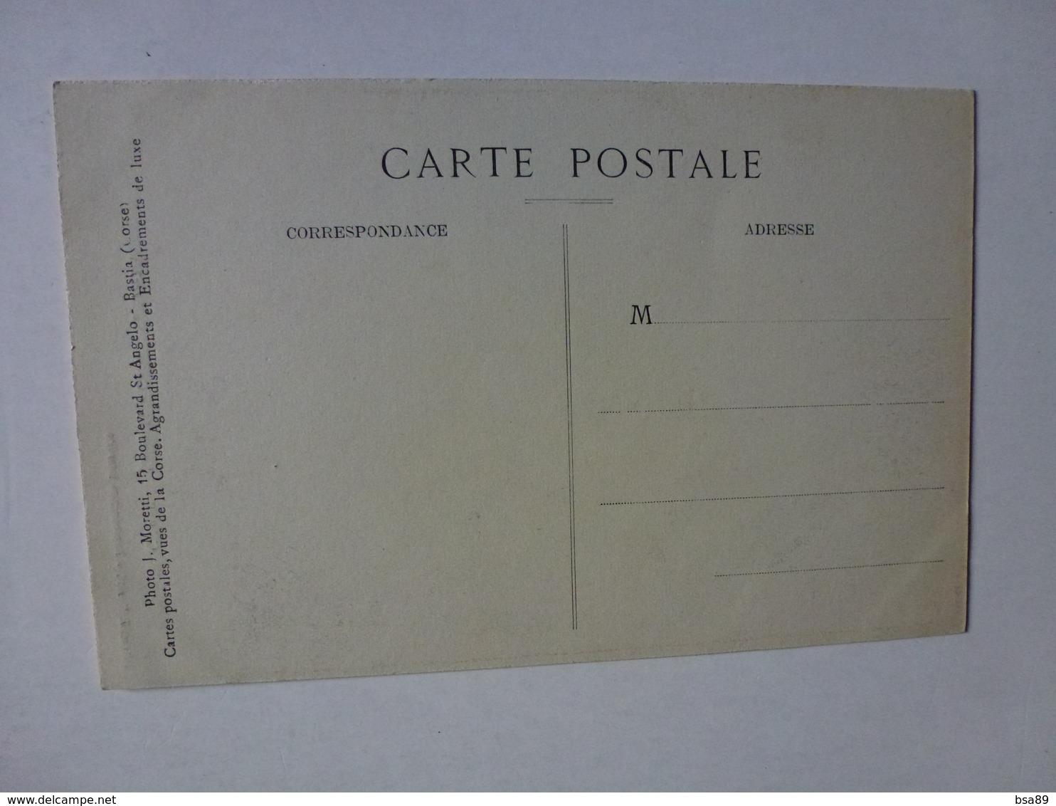 CPA JEUNE FILLE CORSE, LA SECCHIA, COLLECTION J. MORETTI, BASTIA   , VOIR SCAN - Bastia
