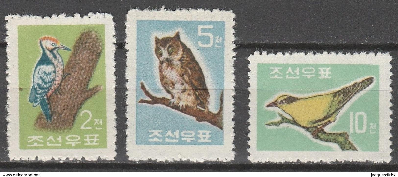 Nord Korea       .     Yvert    .     295/297       .      (*)       .    Kein Gummi   .   /   .   No Gum - Korea (Nord-)